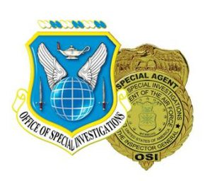 Air Force OSI - Crest & Badge