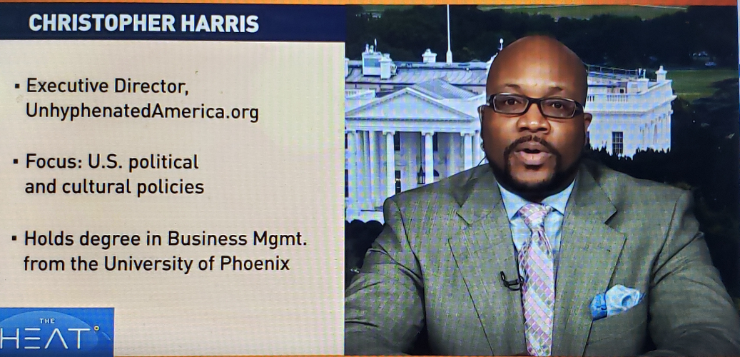 Executive Director of Unhyphenated America on China Global TV Network on 06/22/2020